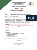 MODELO DE INFORME CICLO OCTUBRE - FEBRERO