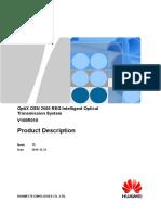 OptiX OSN 2500 REG V100R010 Product Description 15