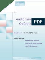 Audit Operationnel