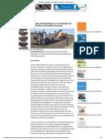 Emerging Methodologies & Technologies for Construction of Flexible Pavement