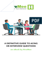 Hr Interview Question Guide
