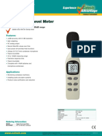 407730 Sound Level Meter by Extech USA