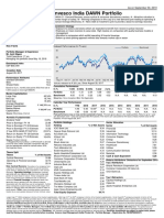 Invesco India DAWN Portfolio - Factsheet - 30 September 2019