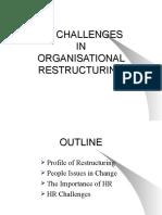 HR Challenges in Organisational Restructuring_