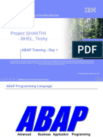 Intro to ABAP