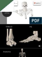 3- Radiologia Tobillo y Pie con audio Dr. Cristobal Varela.pptx
