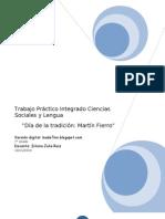 TP integrado Martín Fierro
