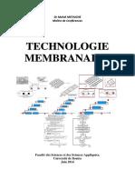 Technologie Membranaire génie de procédes ssa metaiche mehdi