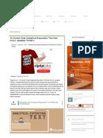10 Contoh Soal Analytical Exposition Text Dan Kunci Jawaban Terbaru - Paja Tapuih