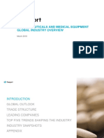 Pharmaceuticals and Medical Equipment Global Industry Overview