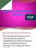Module 2. Entrepreneurial