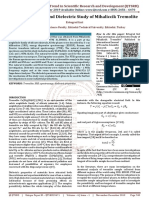 Characterization and Dielectric Study of Mihaliccik Tremolite