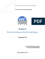 electrostatique-electrocinetique