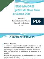 PROFETAS MAIORES - 2-Jeremias