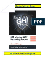 SQL Injection WAF Bypassing shortcut