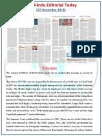 The-Hindu-Editorial-19.11.2019