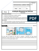 Avaliação-bimestral-1º-Ciências