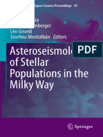 (Astrophysics and Space Science Proceedings 39) Andrea Miglio, Patrick Eggenberger, Léo Girardi, Josefina Montalbán (eds.)-Asteroseismology of Stellar Populations in the Milky Way-Springer Internation