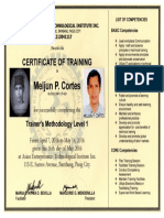MELJUN CORTES TESDA TM 1 2016 Trainer's Methodology I