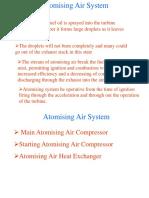 Atomising air compressor