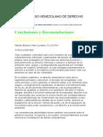 VIII CONGRESO VENEZOLANO DE DERECHO AMBIENTAL