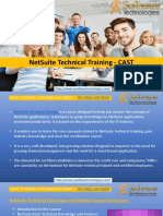 NetSuite Certification Training Course – CAST