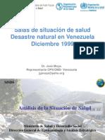 Sala de situacion desastres (Venezuela 1999)
