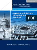 Army Audit by Inspector General of missing $6.5 trillion 74- Pages July 26th, 2106