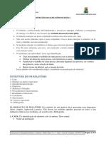 instruções para o relatório de práticas
