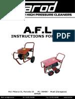 CAROD AFL-3021 Operating Instructions