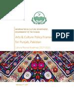 Punjab-Arts-and-Culture-Policy-Framework