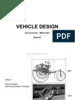 Vd - Part 01 - Automotive Design Principles