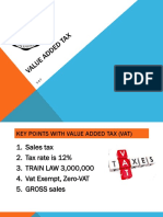 VALUE ADDED TAX updated