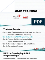 Training ABAP HKI - DAY 2