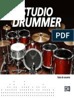 Studio Drummer Manual Spanish