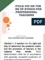Educ 12 (The Teaching Profession)