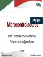 02 Microcontroladores - Arquitetura Pinos