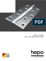 Hepo Riveted Type Butt Hinge