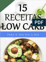 15 receitas LOW CARB