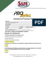 SAFE PROSERIES TEST ESPANOL