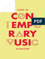 Guide to Contemporary Music in Belgium 2012