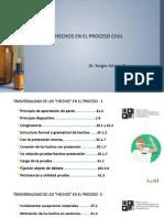 Los hechos; redacción requisitos formales y técnica de elaboración (002)