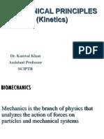 Mechanical principles (kinetics)