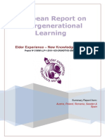 ELDER European Report on Intergenerational Learning