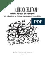 ESCUELA BÍBLICA DEL HOGAR