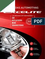 Excelite Catalogo Lampadas Automotivas 2019