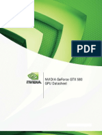 GeForce GTX 580 Datasheet