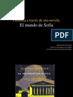 ppt el Mundo de Sofía