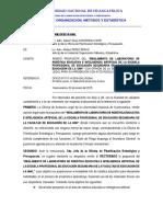 INFORME N° 0001-2019-UOME-OPEP-R-UNH-REMITO PROPUESTA DE REGLAMENTO DE LABORATORIO DE ROBÓTICA EDUCATIVA EPESECUNDARIA.docx