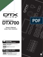 Manual Book DTX 700